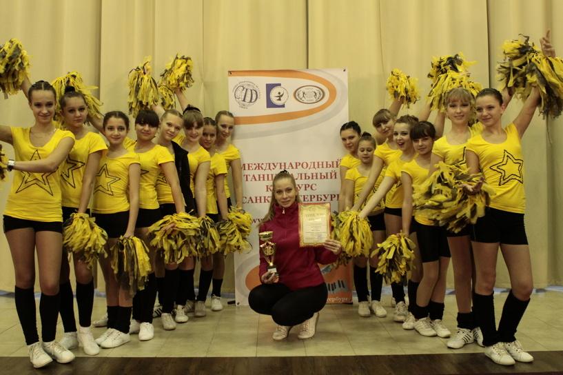 Коллектив «SportDance» на фестивале «Танцуй, Тамбов! 2»