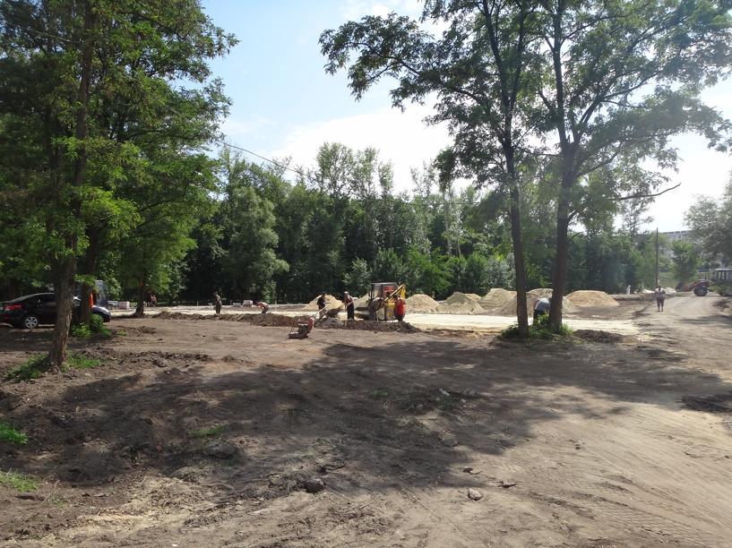 В парке Дружбы готовят площадку для «Народного музея»