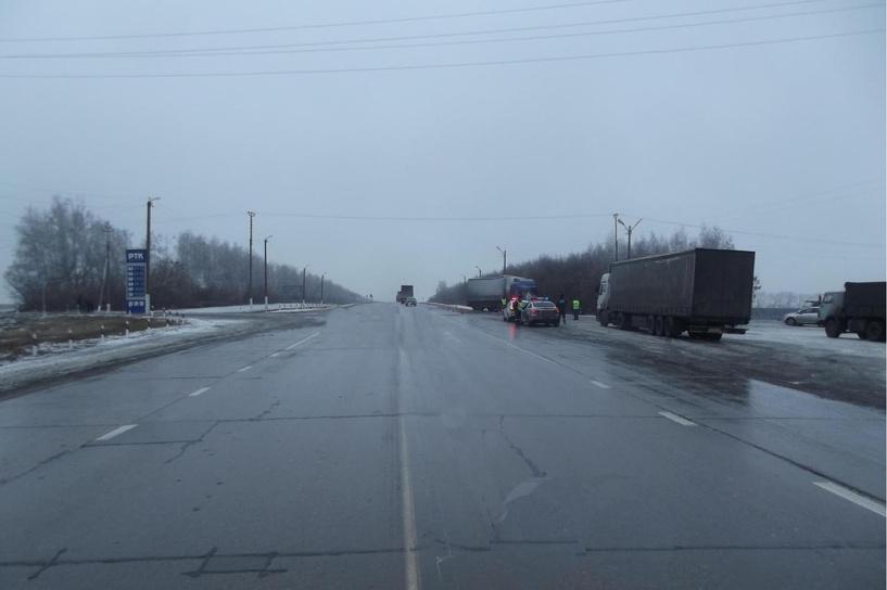 В ДТП на трассе погиб водитель фуры