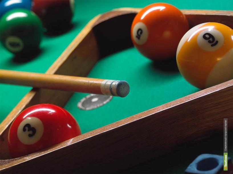 Пензенцы обыграли тамбовчан в турнире по бильярному спорту