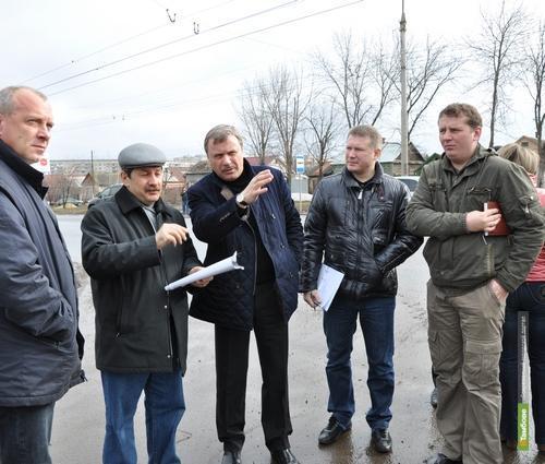 Тамбовский градоначальник пообещал до конца апреля отремонтировать Бастионную