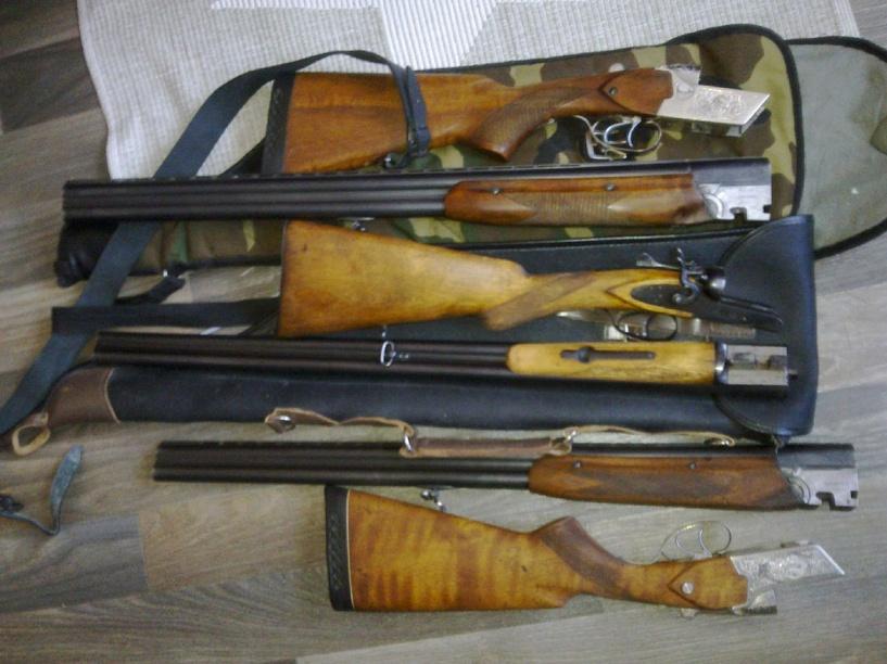 У двух пенсионеров изъяли оружие и боеприпасы