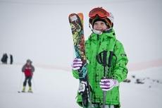 В Ласках открыли новый сезон для любителей горнолыжного спорта