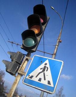В Тамбове заработал новый светофор