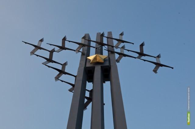 В Брянске поставили памятник тамбовским воинам