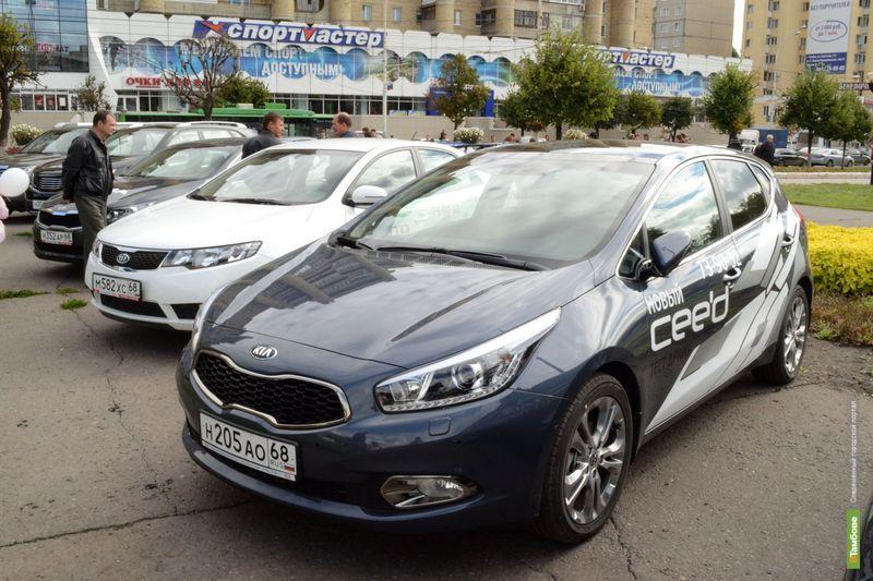 Тамбовские автосалоны выгнали своих «жильцов» на улицу
