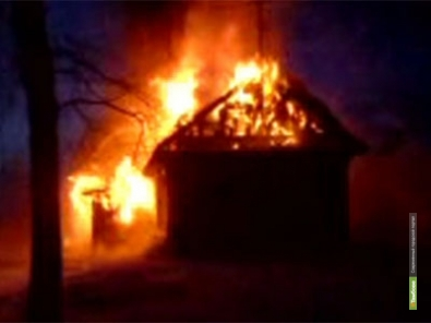 Пожилые тамбовчане сгорели вместе с внуком