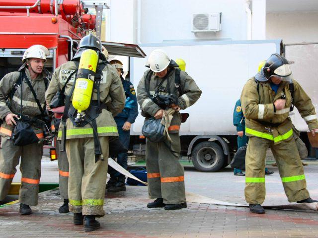 Мичуринские пожарные «тушили» психдиспансер