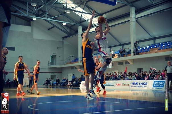 Баскетболисты Тамбова обыграли южан