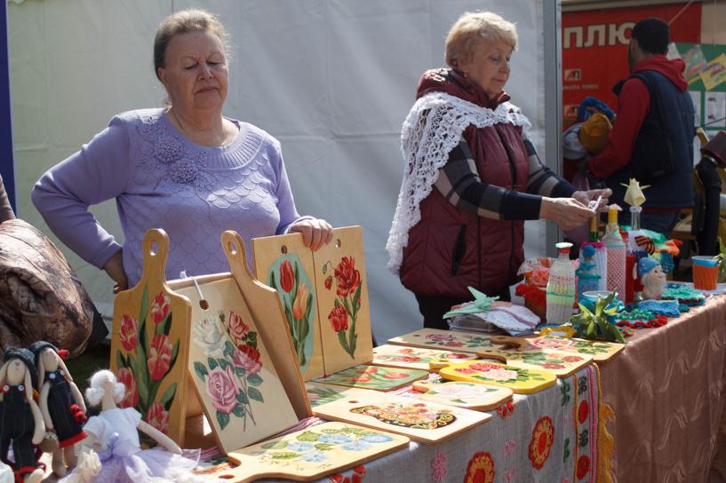 Рассказовцы привезли в Тамбов свои лучшие товары