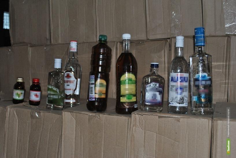Тамбовские полицейские изъяли 270 тысяч бутылок паленого алкоголя
