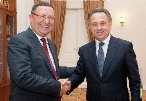 Губернатор Олег Бетин встретился с главой Минспорта Виталием Мутко