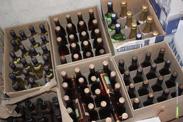 Мичуринец попался полицейским с крупной партией «паленого» алкоголя