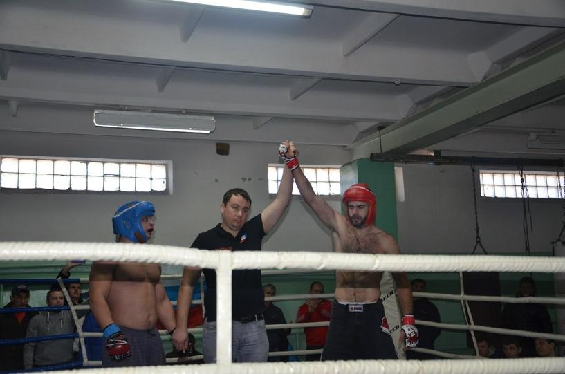 В Котовске прошёл открытый турнир по ММА