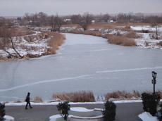 Спасатели просят тамбовчан не выходить на лёд