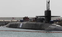 В США столкнулись атомная подлодка и крейсер