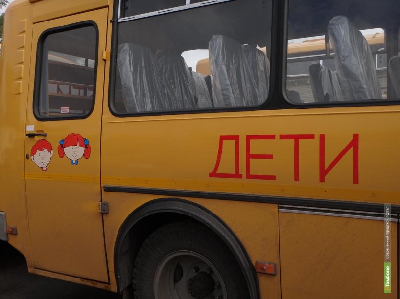 На Тамбовщине водитель школьного автобуса скончался во время рейса