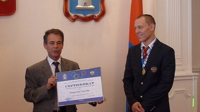 За победу на Сурдлимпийских играх тамбовчанин получил полмиллиона