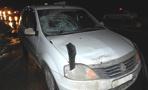 Водитель иномарки сбил женщину и ребёнка