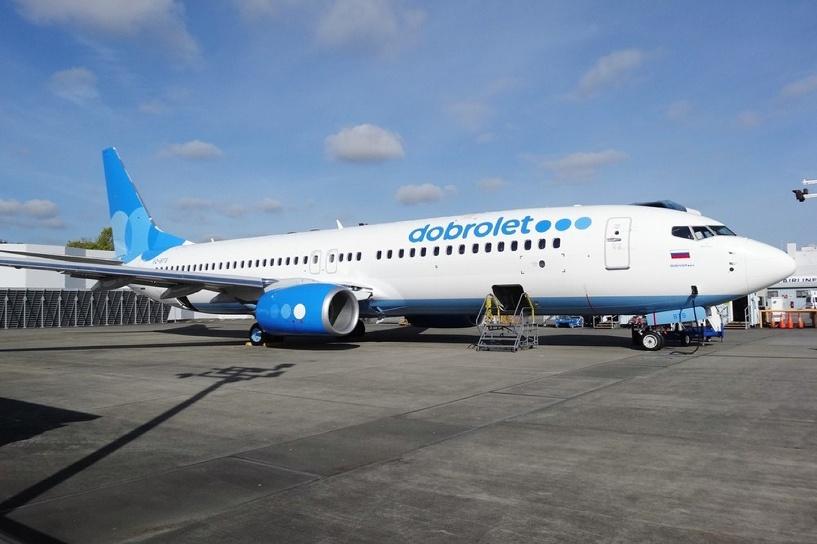 «Добролет» приостановил полеты по всем направлениям из-за санкций ЕС