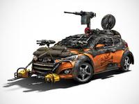 Hyundai построила автомобиль для защиты от зомби