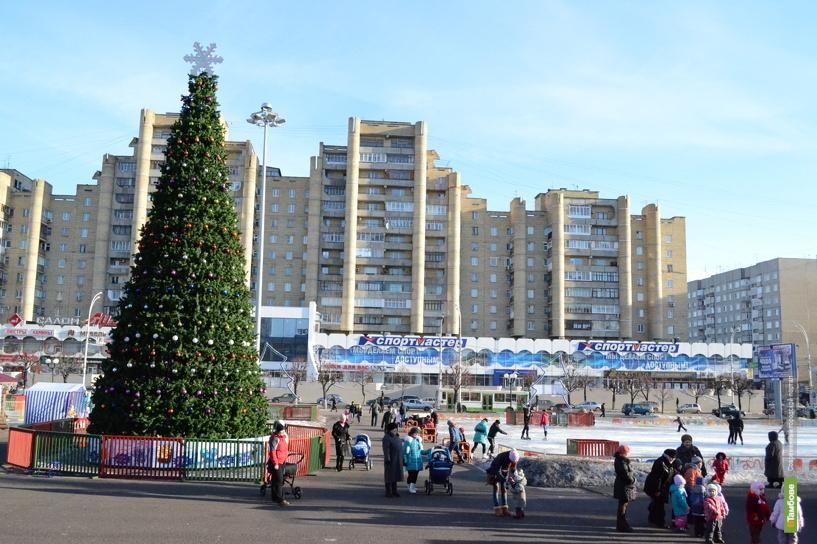 Гулянья в новогоднюю ночь пройдут в пяти местах Тамбова