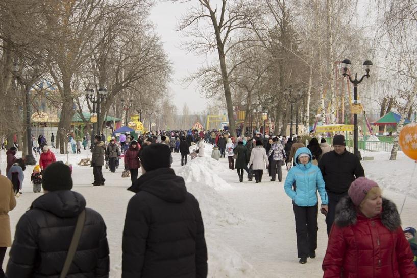 Дань природе: широкие гулянья в честь окончания зимы