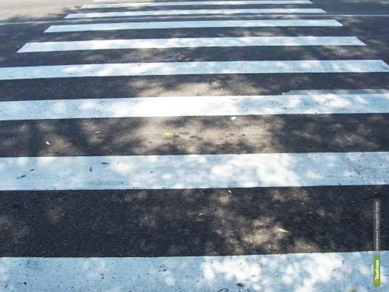 На Тамбовщине «ШеворолеНива » сбила двух пешеходов