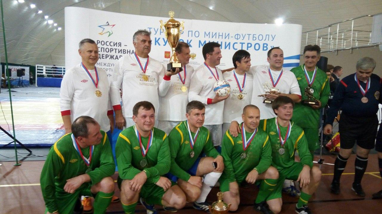 Чиновники тоже играют вфутбол: вТамбов приедет Кубок министров