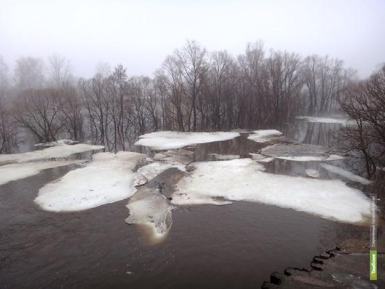 Начало паводка ожидается после первого апреля