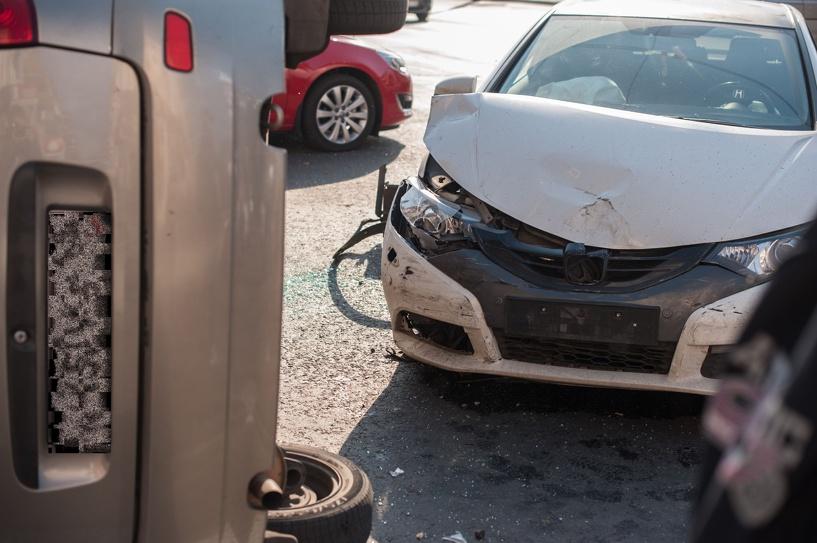 В центре Тамбова столкнулись две «легковушки»: есть пострадавшие