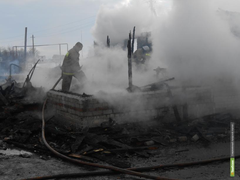 Двухлетний малыш погиб на пожаре в Тамбовской области