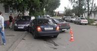 В Тамбове в Меrсеdеs врезались сразу две иномарки
