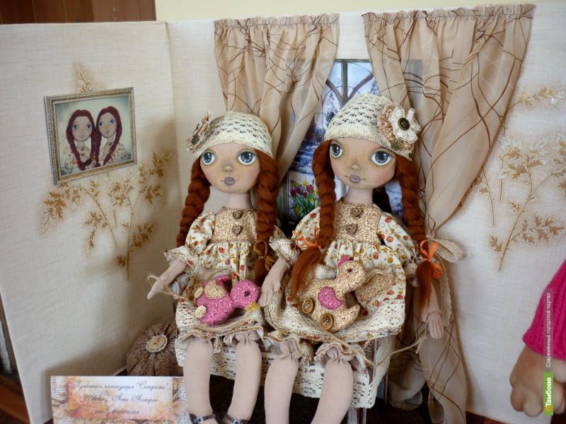 Взору рассказовцев представят необычных кукол
