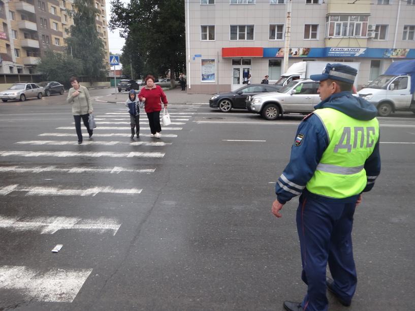 Тамбовские автоинспекторы «заступятся» за пешеходов на дороге