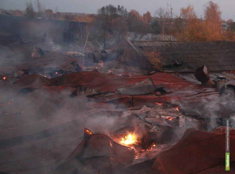 При пожаре в селе Горелое погибла 49-летняя женщина