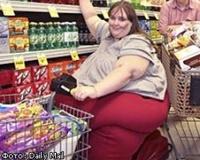 Самая толстая женщина в мире хочет весить тонну