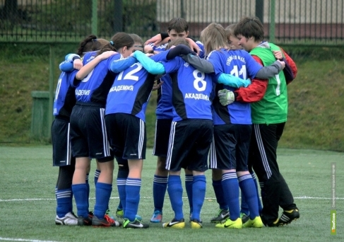 Девушки из «Академии футбола» завершили сезон