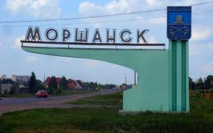 На въездах в Моршанск установили поклонные кресты