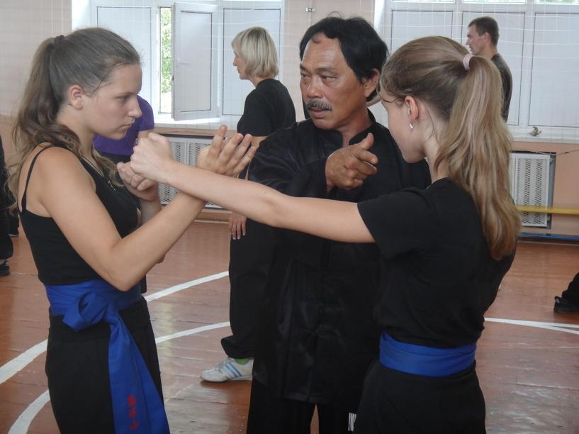 В Тамбове проводит тренировки живая легенда кунг-фу