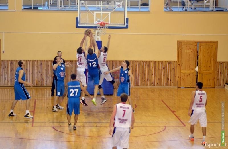 Баскетболисты Тамбова обыграли соперника из Ставрополя