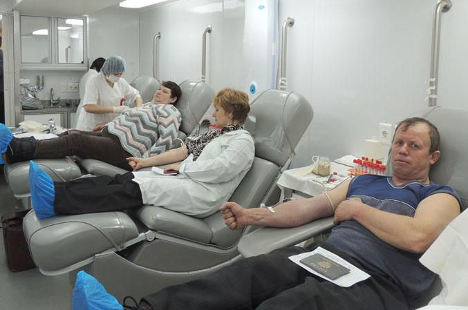 150 человек сдали кровь для онкобольных