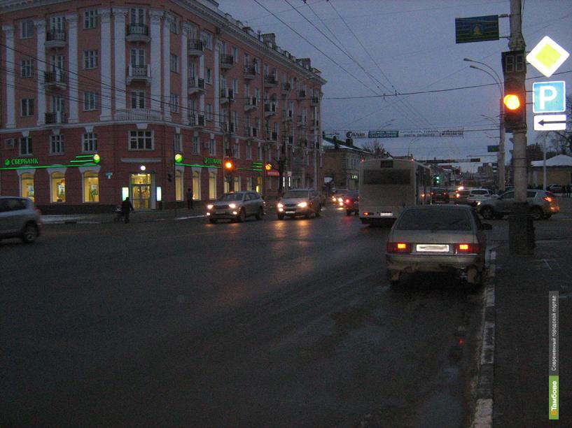 В Тамбове липчанин на иномарке сбил пешехода