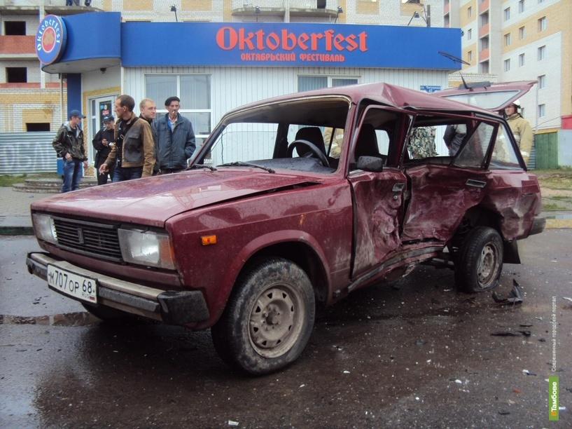 На севере Тамбова в ДТП пострадали 5 человек