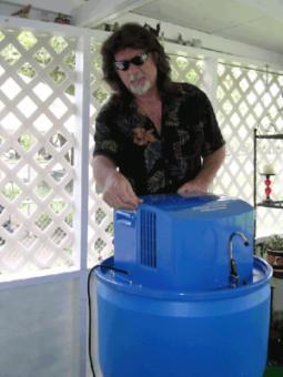 В Техасе добывают воду из воздуха
