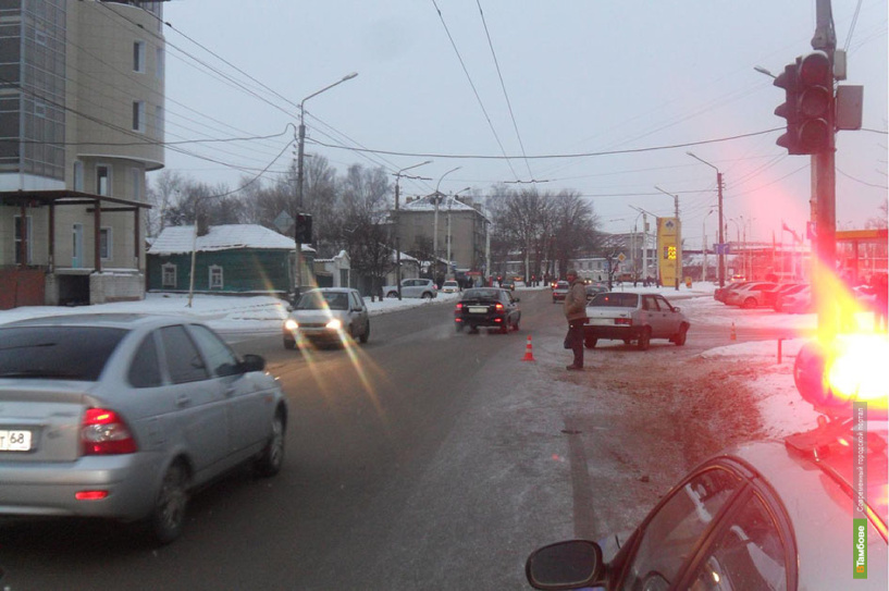 В Тамбове ВАЗ 21099 сбил пешехода