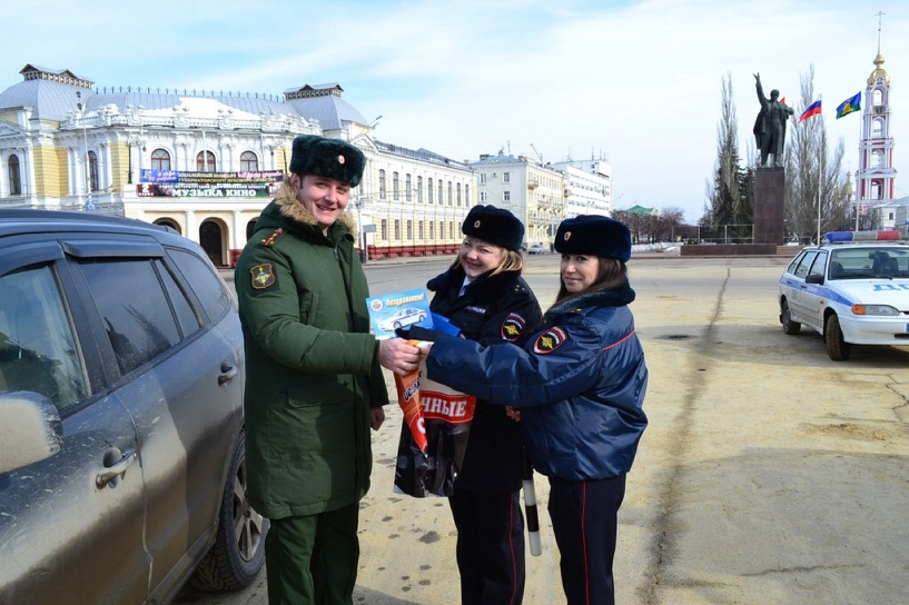 Водители-военнослужащие попали в поле зрения ГИБДД