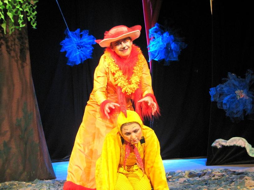 Столичные артисты покажут в Тамбове детский спектакль