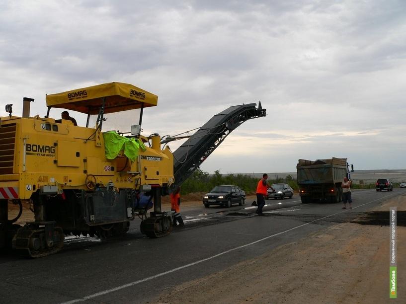 Дорожники досрочно закончили ремонт тамбовской дороги