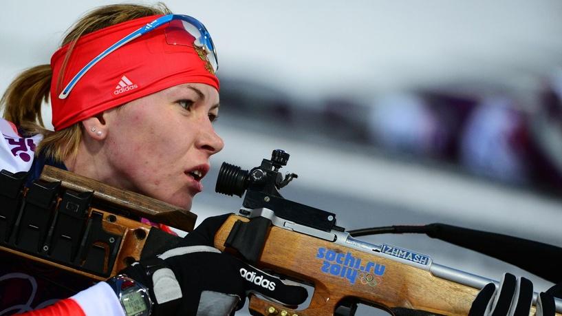Биатлонистка Глазырина оставила женскую сборную без золота эстафеты